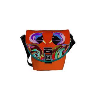 Dos en un diseño mini Citybag y Messengerbag Bolsa Messenger