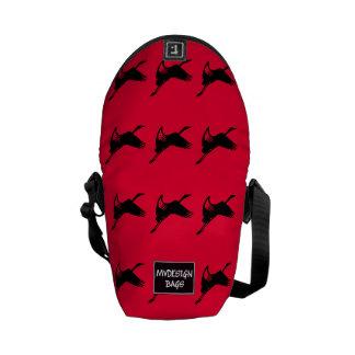 Dos en un mini mochila y Messengerbag Bolsas Messenger