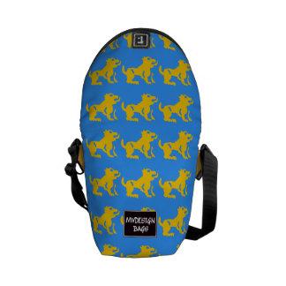 Dos en un mini mochila y Messengerbag Bolsas De Mensajería