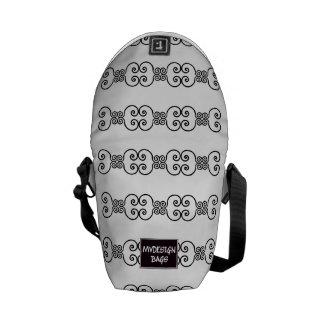 Dos en un mini mochila y Messengerbag Bolsa Messenger