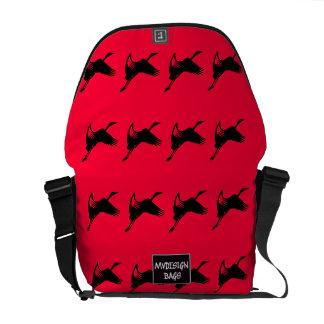 Dos en un mochila y Messengerbag del diseño Bolsas De Mensajería