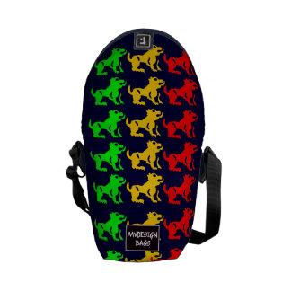 Dos en una mini mochila Messengerbag Bolsa Messenger