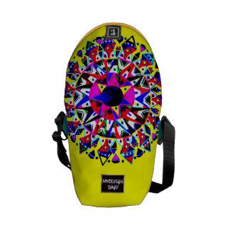 Dos en una mini mochila Messengerbag del diseño Bolsa Messenger
