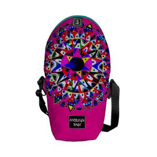 Dos en una mini mochila Messengerbag del diseño Bolsas De Mensajería