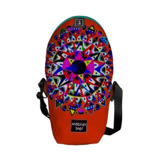 Dos en una mini mochila Messengerbag del diseño Bolsa De Mensajeria