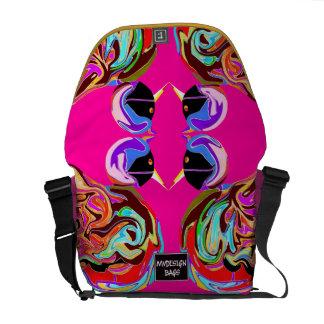 Dos en una mochila Messengerbag del diseño Bolsas De Mensajeria