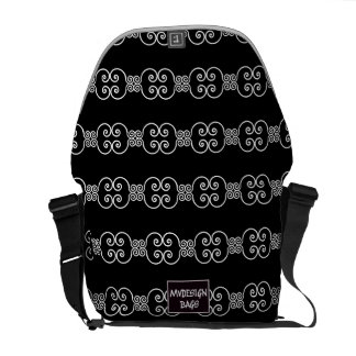 Dos en una mochila Messengerbag del diseño Bolsas Messenger