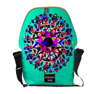 Dos en una mochila Messengerbag del diseño Bolsa Messenger