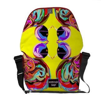 Dos en una mochila Messengerbag del diseño Bolsas De Mensajería