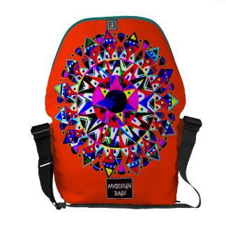 Dos en una mochila Messengerbag del diseño