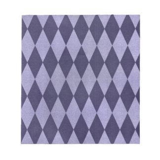 Dos entonaron a Harlequins púrpuras Blocs De Notas