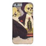 Dos esqueletos del vintage funda de iPhone 6 barely there