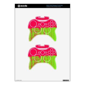 Dos etiquetas inalámbricas del regulador de Xbox 3 Mando Xbox 360 Skins