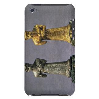 Dos figurillas de los hombres que llevan ofrendas  Case-Mate iPod touch cárcasas