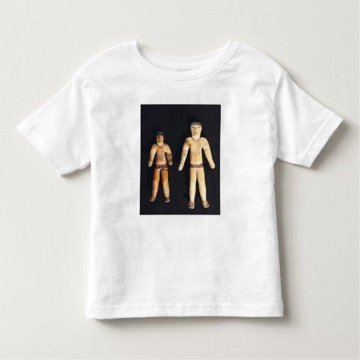 Dos figurillas masculinas, cultura de Recuay Playeras