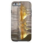 dos filas de los vidrios de la degustación de funda resistente iPhone 6