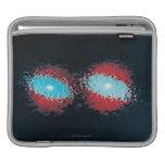 Dos galaxias espirales mangas de iPad