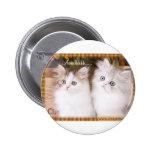 Dos gatitos acogedores lindos pins