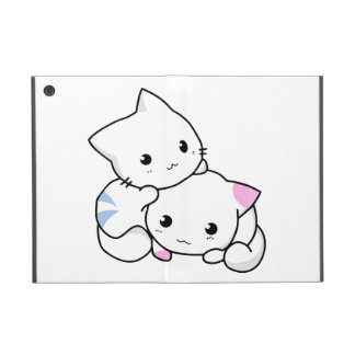 Dos gatitos iPad mini coberturas