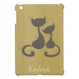 Dos gatos iPad mini cobertura