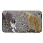 Dos gatos iPod Case-Mate fundas