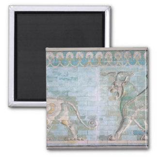 Dos grifos cons alas, del palacio de imán cuadrado