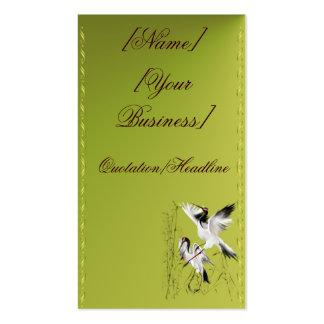 Dos grúas en el profilecard_business_verti de bamb tarjetas de visita