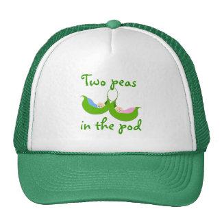 """""""Dos guisantes en gorra de la vaina"""""""