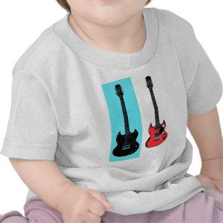 Dos guitarras camiseta