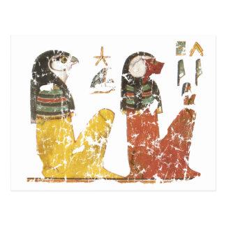 Dos hijos de Horus Tarjetas Postales