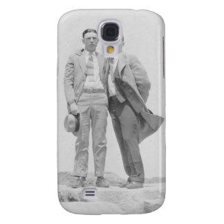 Dos hombres en rocas samsung galaxy s4 cover