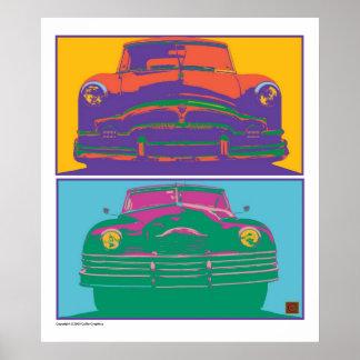 Dos-Impresión de Packards Poster