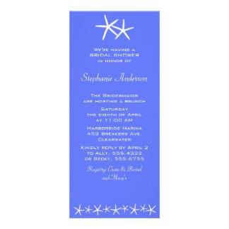 Dos invitaciones de la ducha de las estrellas Del Invitacion Personalizada