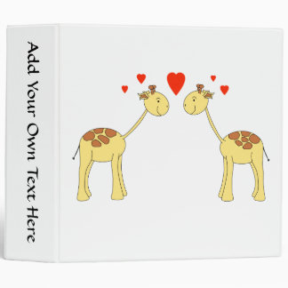 """Dos jirafas que hacen frente con los corazones. carpeta 2"""""""