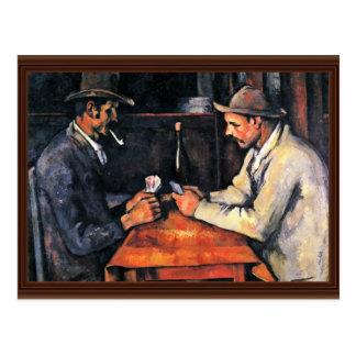 Dos jugadores de tarjeta de Paul Cézanne (la mejor Tarjetas Postales