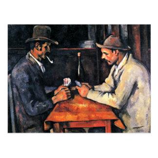 Dos jugadores de tarjeta de Paul Cézanne (la mejor Postales