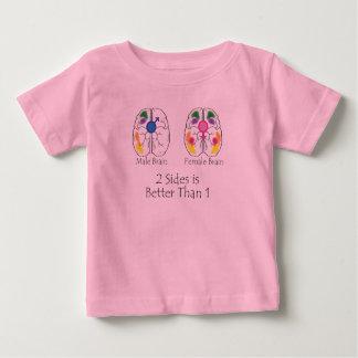 Dos lados para los niños t-shirts