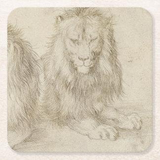 Dos leones asentados de Albrecht Durer
