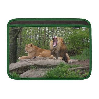 Dos leones fundas macbook air