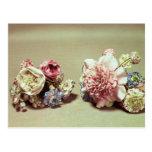 Dos manojos de flores de Vincennes Postal