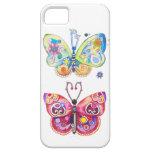 Dos mariposas iPhone 5 Case-Mate cobertura