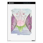 dos mariposas por un loto calcomanías para iPad 2