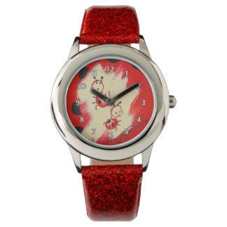 Dos mariquitas lindas reloj