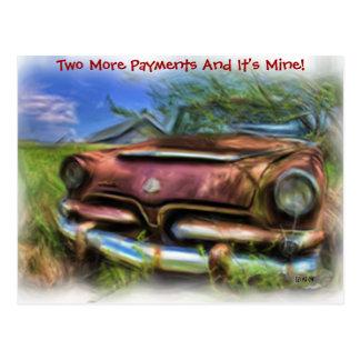 Dos más pagos tarjetas postales