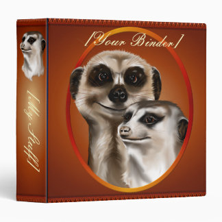 "Dos Meerkats binder_15_front.v4 oval Carpeta 1 1/2"""