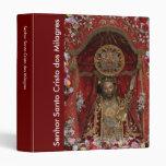DOS Milagres de Santo Cristo Carpeta 2,5 Cm
