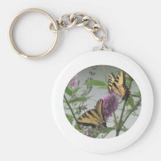 Dos monarcas llavero personalizado