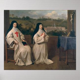 Dos monjas póster