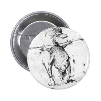 Dos monstruos de Hieronymus Bosch Pin