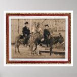 Dos muchachos de O'Keefe en los burros (40040) Impresiones